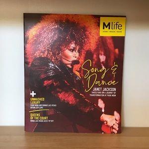 Rare Janet Jackson magazine Park MGM Las Vegas